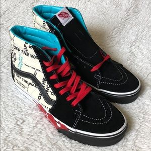 VANS OLD SKOOL OFF THE WALL FLAME Hi Top